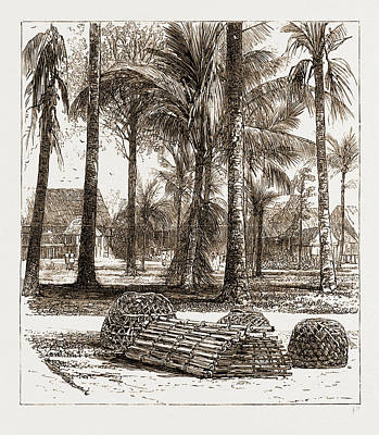 The War In The Malay Peninsula, 1876 The Barracks Art Print by Litz Collection