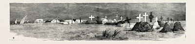 The War In The Soudan Sudan The English Cemetery At Suakim Art Print