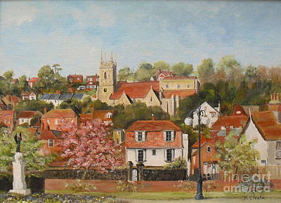 Painting - The War Memorial Hythe by Beatrice Cloake