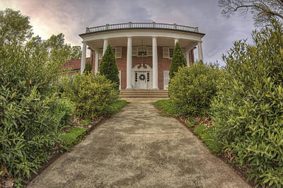 Photograph - The Ward Mansion - Conway - Arkansas by Jason Politte