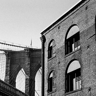 Photograph - The Warehouse And The Bridge by Cornelis Verwaal