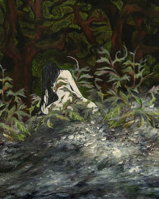 Painting - The Warlock's Spell by FT McKinstry