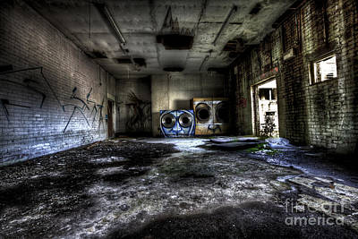 Photograph - The Wash Room by Roddy Atkinson