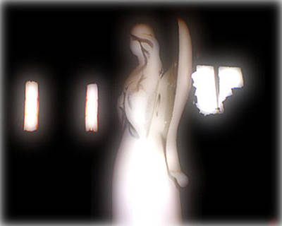 The Watcher Original by Linda N  La Rose