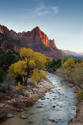 Zion National Park Photograph - The Watchman by Andrew Soundarajan