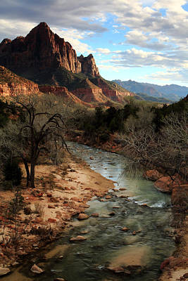 Photograph - The Watchman At Sunset by Eric Foltz