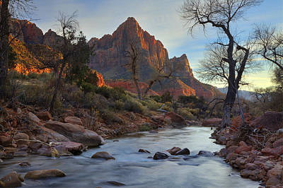 Photograph - The Watchman In Winter-2 by Alan Vance Ley