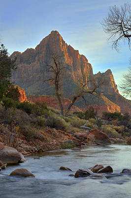 Photograph - The Watchman In Winter-3 by Alan Vance Ley