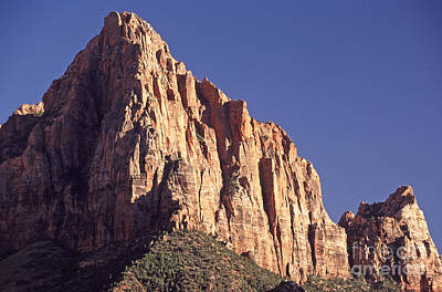 Zion National Park Photograph - The Watchman  Zion Np by Liz Leyden