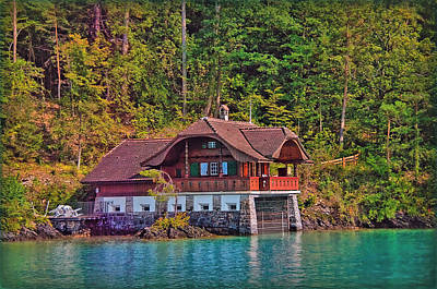 Photograph - The Water Chalet by Hanny Heim