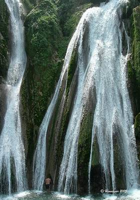 Photograph - The Water Fall In India by Hemu Aggarwal