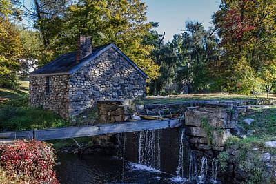 Commerce Mixed Media - The Water Mill by Capt Gerry Hare