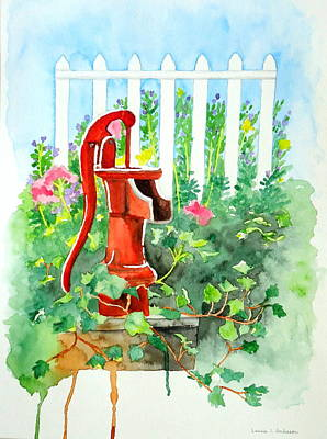 The Water Pump Art Print
