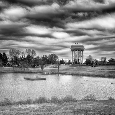 Photograph - The Water Tower by Howard Salmon
