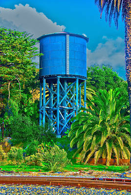 Photograph - The Water Tower by Richard J Cassato