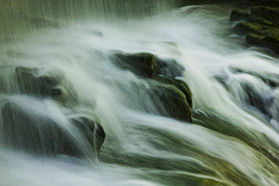 Photograph - The Waterfall by John Stuart Webbstock