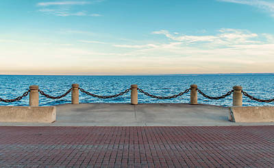 Photograph - The Waterfront At Downtown Burlington by Boris Mordukhayev