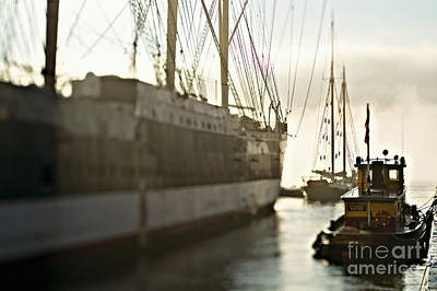 Outmoded Photograph - The Waterfront by Joseph Reid