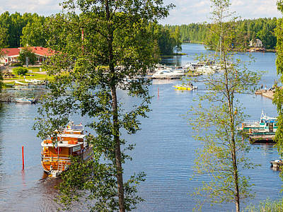Photograph - The Waterfront Of Oravi by Ismo Raisanen