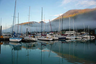 A Summer Evening Photograph - The Waterfront Of Seward, Alaska by Dan Bailey