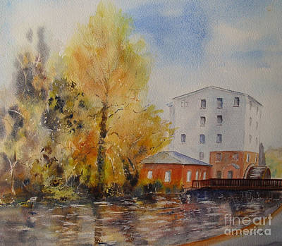 Painting - The Watermill by Beatrice Cloake