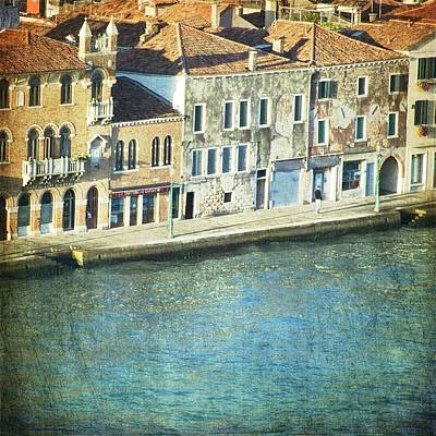 Photograph - The Waters - Venice by Lisa Parrish