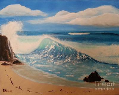 Painting - The Wave by Bev Conover
