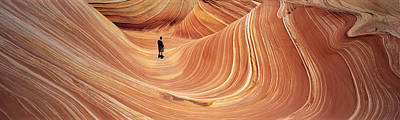 The Wave Coyote Buttes Pariah Canyon Art Print by Panoramic Images