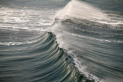 Art Print featuring the photograph The Wave by John Babis