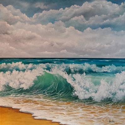 Painting - The Wave by Katia Aho