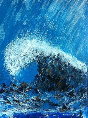 Impressionist Landscapes - The Wave by Michelle Deyna-Hayward