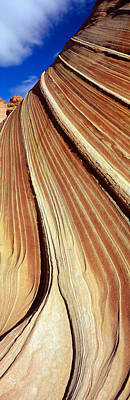 Sandstone Formation Photograph - The Wave, Navajo Sandstone Formation by Panoramic Images
