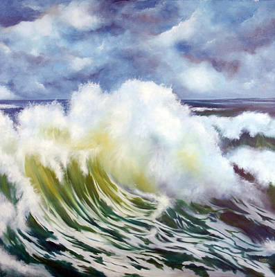 Painting - The Wave by Neil Kinsey Fagan