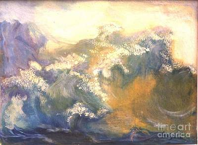 Painting - The Wave by Renuka Pillai