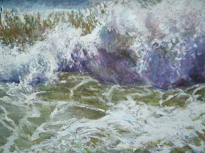 Painting - The Wave by Sheila Holland