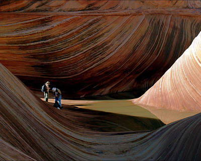 'the Wave' North Coyote Buttes 44 Art Print