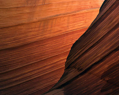Photograph - 'the Wave' North Coyote Buttes 47 by Jeff Brunton