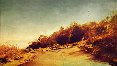 The Way Down. Trossachs National Park. Scotland Art Print by Jenny Rainbow