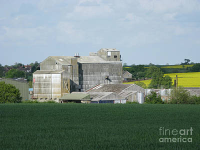 Feed Mill Photograph - The Way It Was by Ann Horn