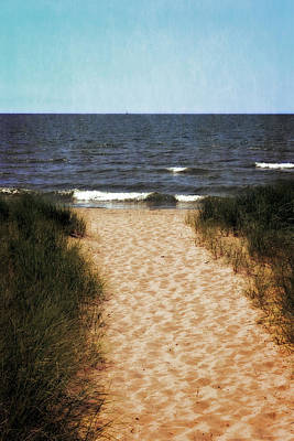 Coastal Photograph - The Way by Michelle Calkins