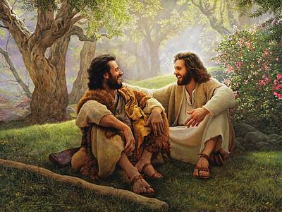The Trees Painting - The Way Of Joy by Greg Olsen