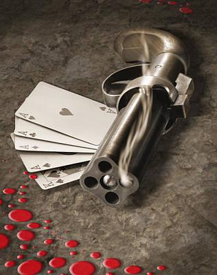 The Way Of The Gun Art Print by Mike McGlothlen