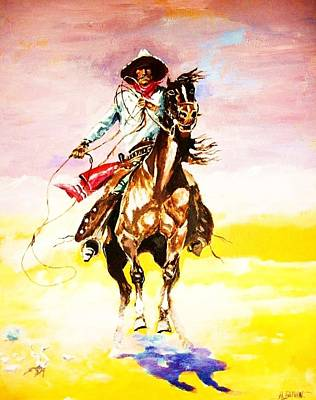The Way Of The Vaquero Art Print