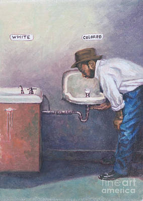 Segregation Painting - The Way Things Were by Colin Bootman