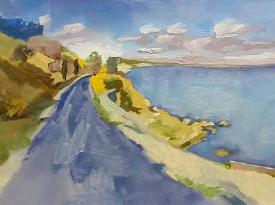 The Way To Mytilene Original by Kari Melen