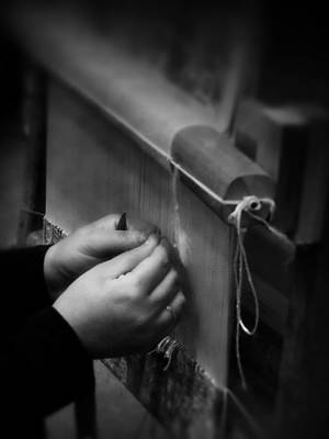 Photograph - The Weaver's Hands by Lucinda Walter