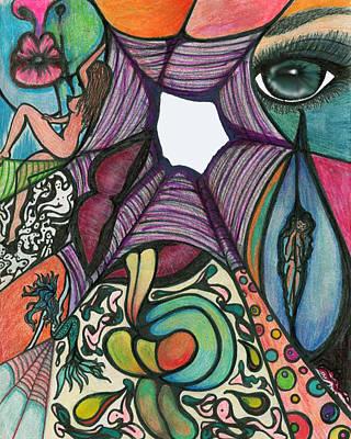 The Web Art Print by Tiffany Selig