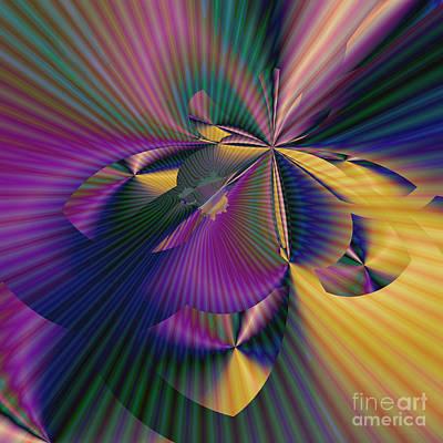 Digital Art - The Web by Ursula Freer