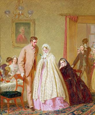 The Wedding Breakfast, 1862 Art Print by George Elgar Hicks