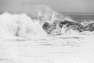 Body Surfing Photograph - The Wedge by Ariane Moshayedi